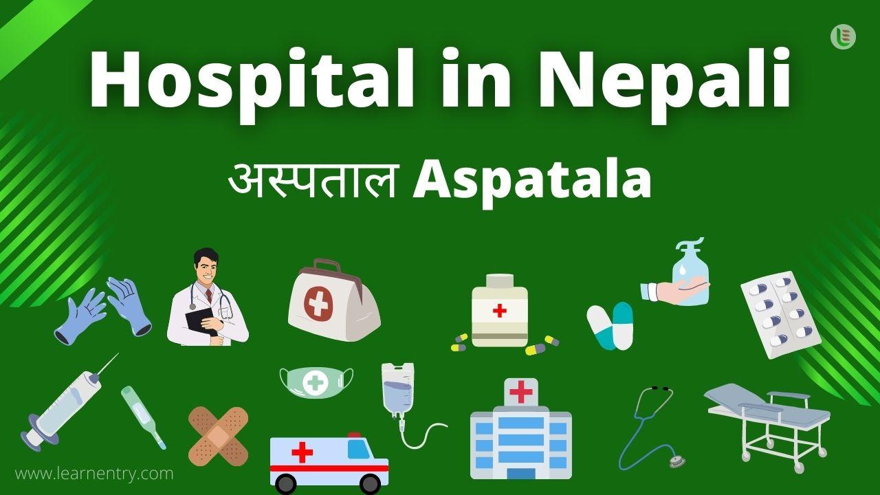 Hospital in nepali