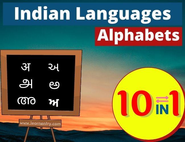 Indian languages Alphabets