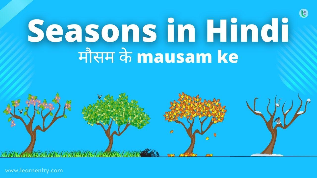 Season in Hindi