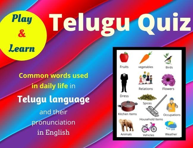 Telugu Quiz
