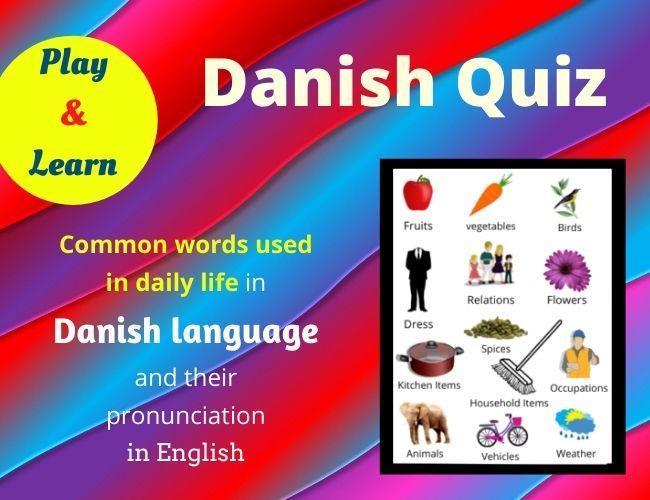 Danish quiz