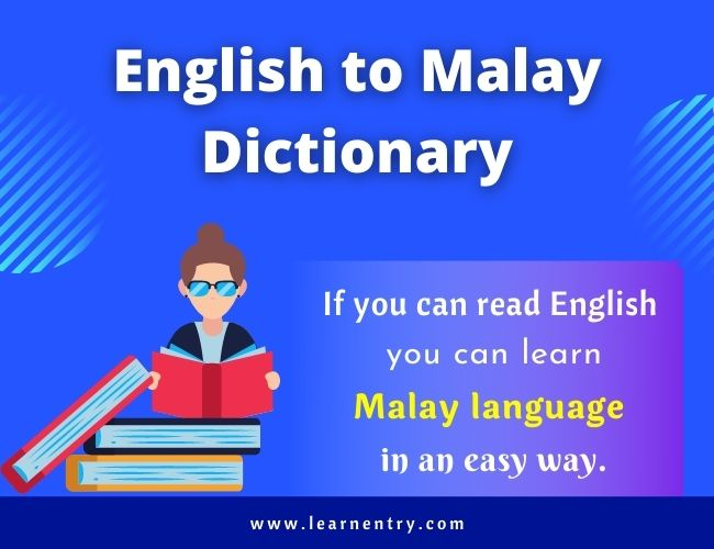 English to Malay dictionary