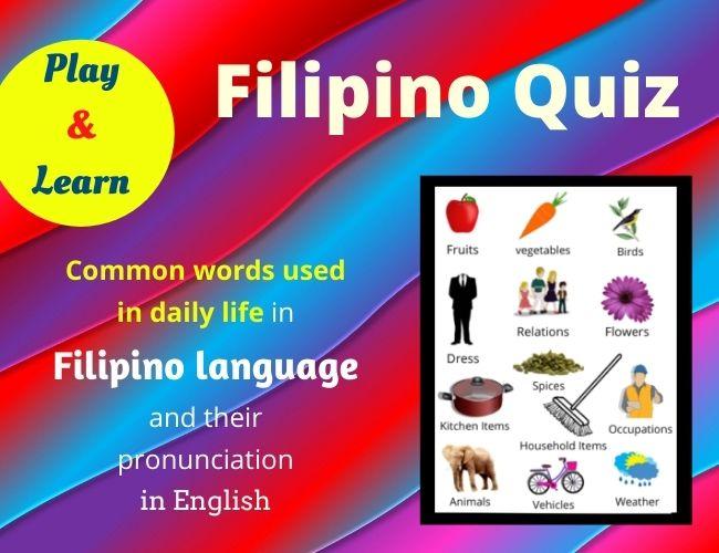 Filipino quiz