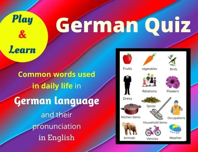 German quiz