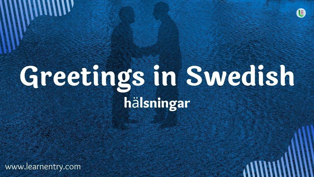 Greetings in Swedish