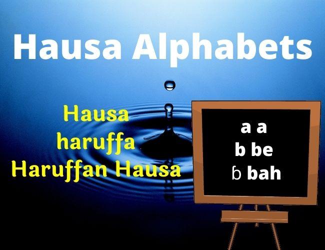 Hausa alphabet