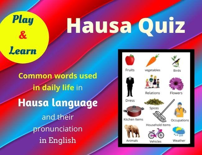 Hausa quiz