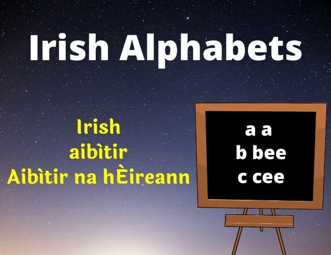 Irish alphabet