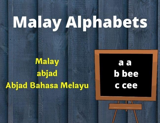 Malay alphabet
