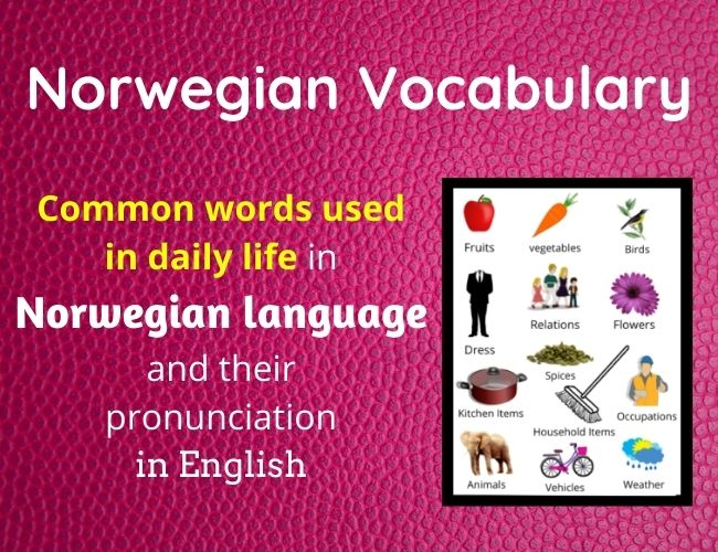 Norwegian vocabulary