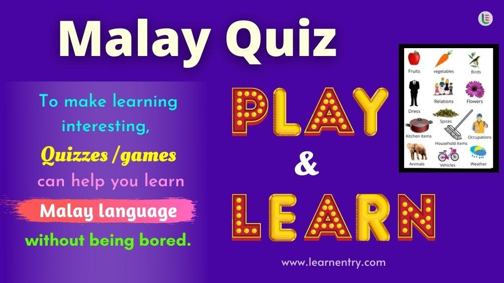 Play Quiz in Malay