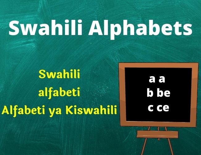 Swahili alphabet