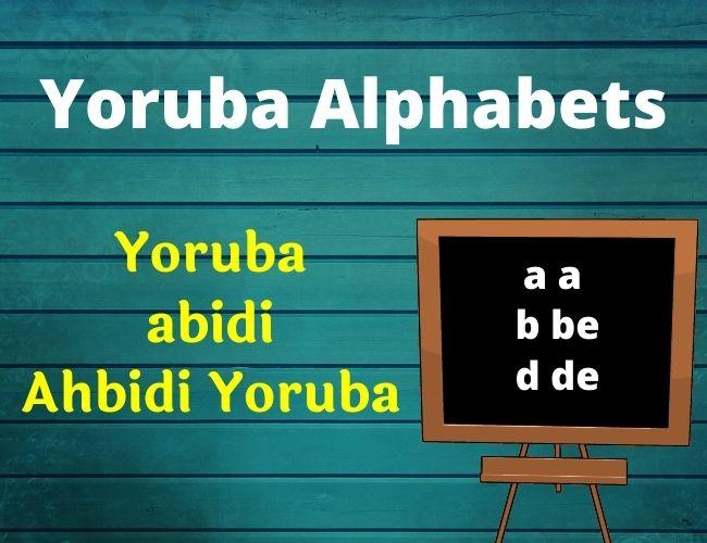 Yoruba alphabet