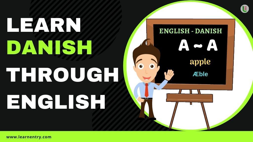 learn Danish through english