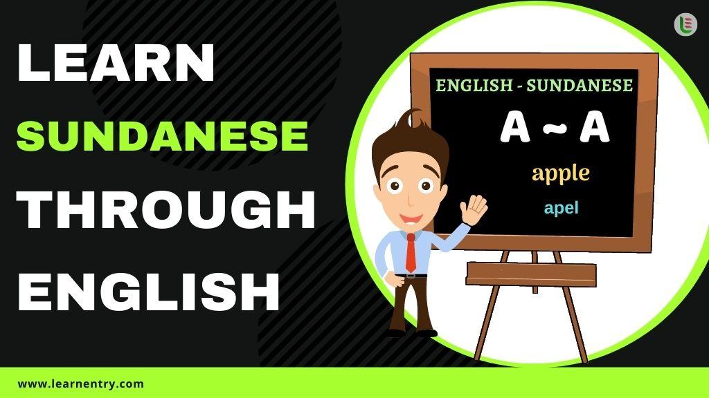 learn Sundanese through english