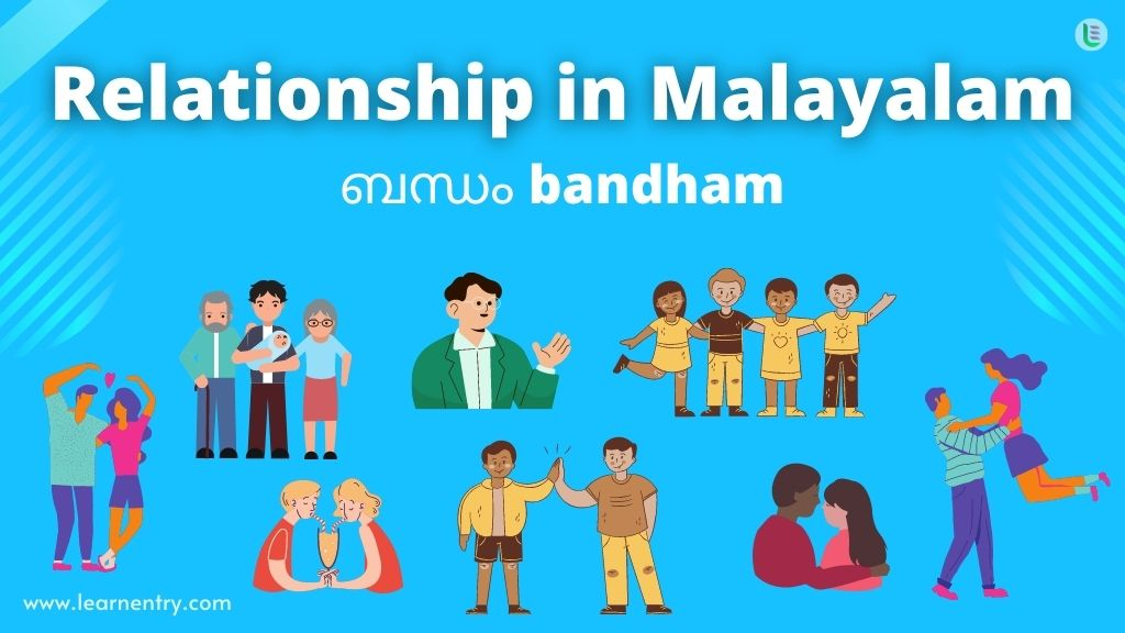 Family Relationship in Malayalam